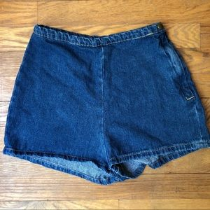 American Apparel Hight waisted shorts